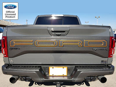 FORD RAPTOR SVT F-150 REFLECTIVE GRILLE LETTERS VINYL STICKERS DECALS 2018 GRILL