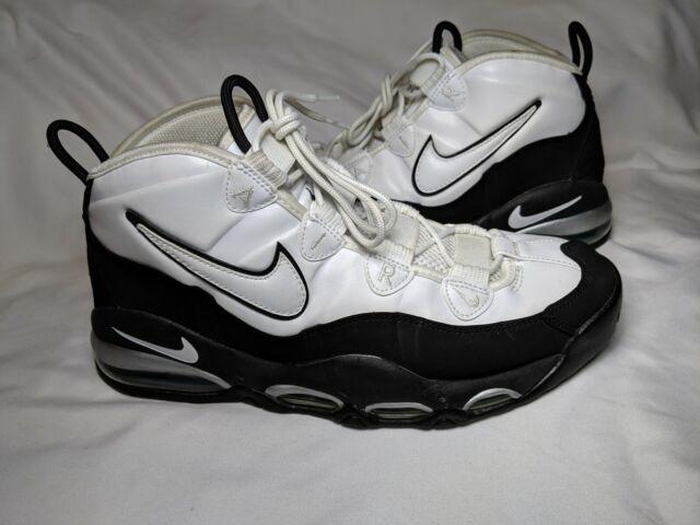 Nike Air Max Uptemo White BlackMystic Teal Size 10.5 (311090 100)