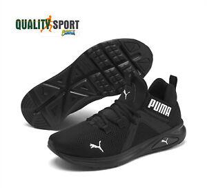 puma scarpe nero uomo