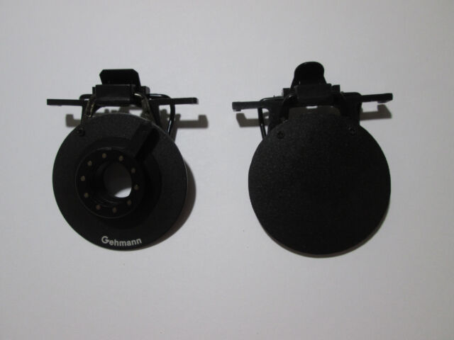 Gehmann Clip-on Eyeshield Set Iris + CCT Round eyesheild
