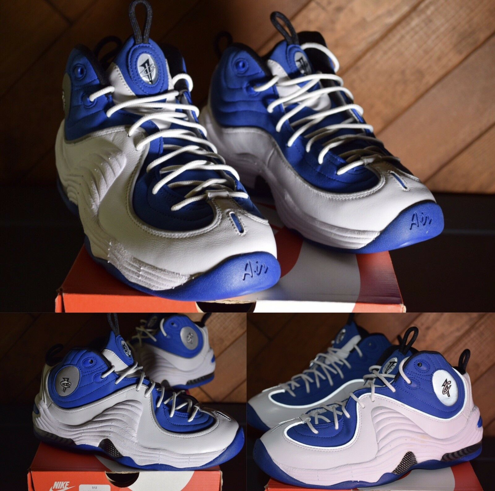 2015 Nike Air Penny 2 II Atlantic 'College bluee' 333886-400, Size 8