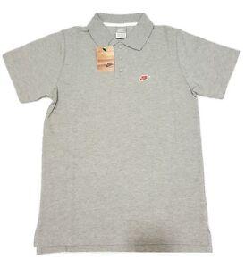 Nike Men's Tennis Polo Shirt Short Sleeve Top Tee - Grey - 360549-063