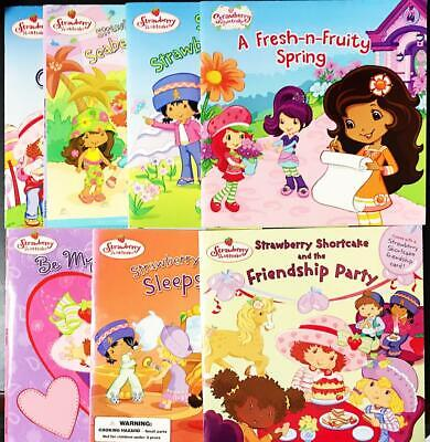 Strawberry Shortcake Lot Of 8 New Friendship Sleep Over