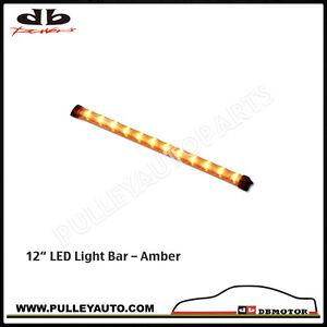 DBMOTOR-12-034-Weatherproof-LED-Functional-Light-Bar-Amber