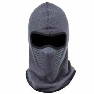 Details about Balaclava Thick Warm Beanies Men Women Winter Hats Sleeve Caps Boy Snow Ski Mask