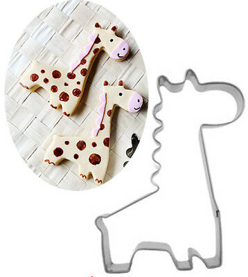 Metal Giraffe Cookie Cutter For Cake Decorating