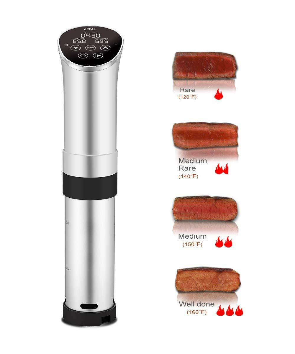 Sous Vide Circulator 1000W Digital LED Immersion Accurate Cooker Stainless Steel