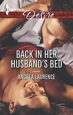 Back in Her Husband's Bed (Harlequin Desire)-ExLibrary