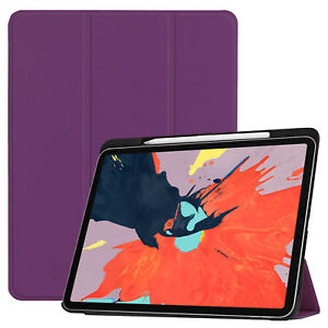 Case-for-Apple-IPAD-pro-12-9-with-Stift-Halterung-Smart-Cover-Case
