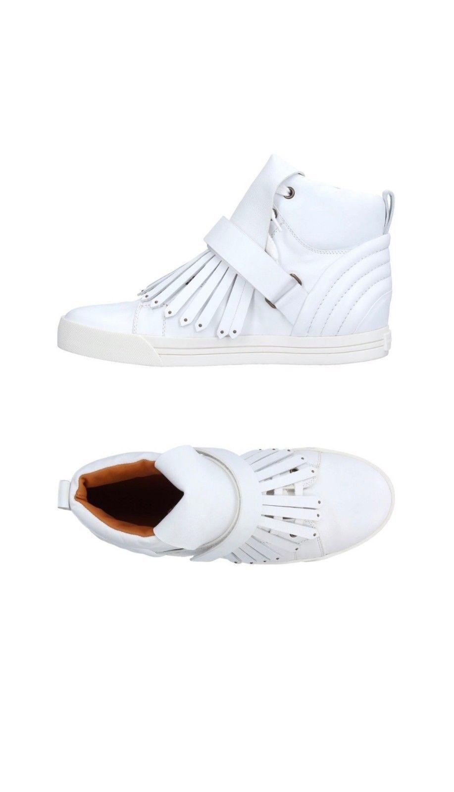 Marc Jacobs Auth bianca High  -Tops scarpe da ginnastica Soft Leather donna Dimensione 9US 39EU NWB  articoli promozionali