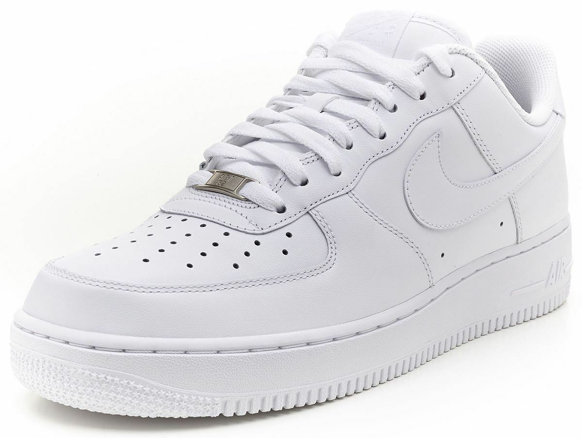 Nike White/White Air Force 1 '07 White/White Nike (315122 111) 77b2c6