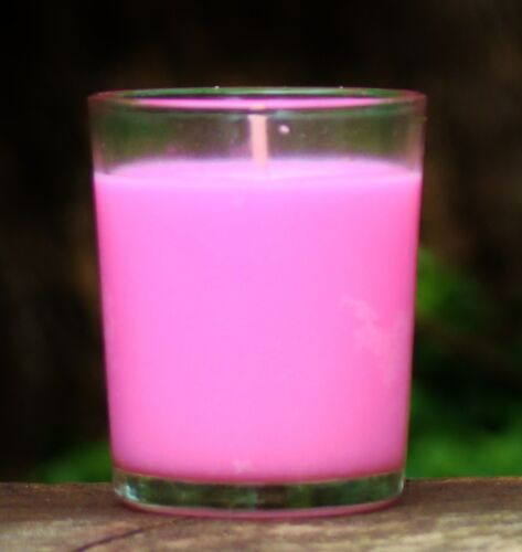 40hour BLACK CHERRY /& VANILLA Triple Scented Organic SOY Jar Candle ALL COLOURS