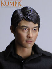 """1/6 Scale Male Head Sculpt KUMIK 16-31 For 12"""" Hot Sideshow Toys TTL HT Body"""