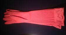 Haushaltshandschuhe 45cm lang Gr. L Gummihandschuhe extra lang rubber gloves #04