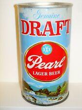 """PEARL """"GENUINE DRAFT"""" (U-TAB) S/S Beer Can J954"""