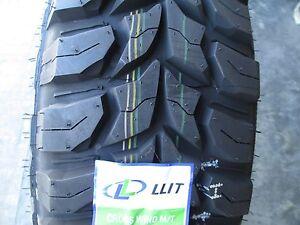 4 New 235 75r15 Inch Crosswind Mud Tires 2357515 M T Mt 235 75 15