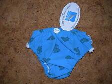 maillot de bain, couche anti-fuite pour bébé-  DOLPHIN- BLEU- taille M=7 à 9 kgs