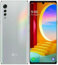 New LG Velvet 4G & 5G LMG900UM1 128GB Aurora Silver (AT&T+ GSM Unlocked) Phone
