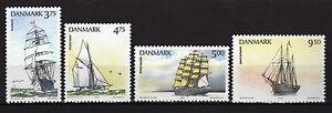 Dinamarca-Denmark-1993-Ships-complete-set-MNH