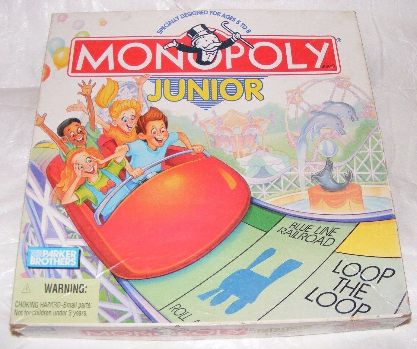 1996 Monopoly Junior Board Game