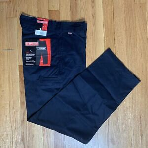 Craftsman-Twill-Double-Knee-Pants-with-Teflon-Mens-Work-Trousers-Loose-Fit-30-32