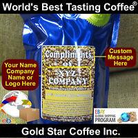 Custom Labeled Coffee - 10 Lb Jamaica Jamaican Blue Mountain - Global Shipping