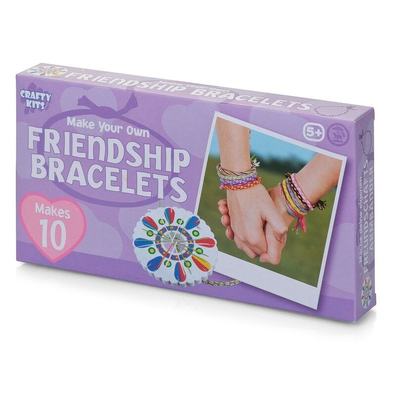 MAKE YOUR OWN FRIENDSHIP BRACELETS - 09660 CREATIVE KIDS FUN WOVEN WOOL WHEELS
