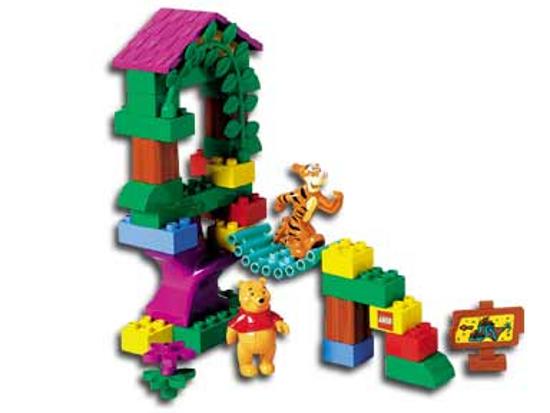 LEGO 2990 - Duplo: Winnie The Pooh - Tigger's Treehouse - NO BOX
