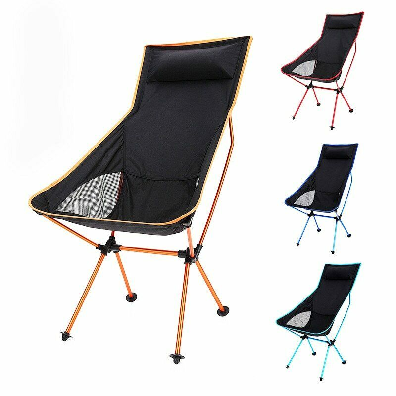 Durable Portable Folding Fishing Chair Outdoor Camping Picnic  BBQ Stool Seat  the latest models