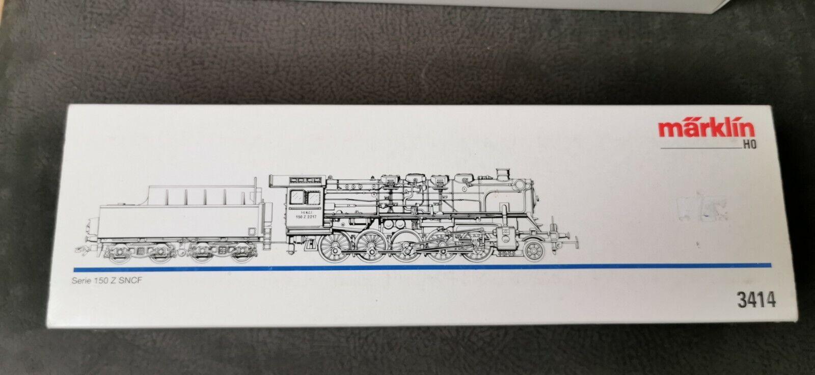 marklin HO LOK 3414 serie 150 SNCF t2527