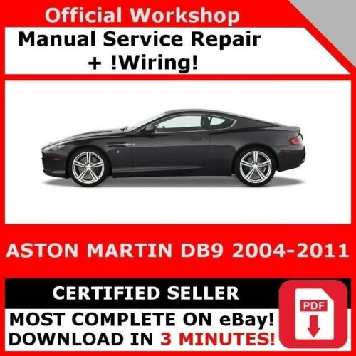 Factory Workshop Service Repair Manual Aston Martin Db