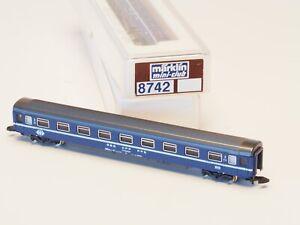 8742-MARKLIN-Z-scale-Eurofima-passenger-coach-SBB-Blue-Switzerland-SBB-2nd-cl