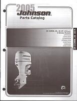 2005 Johnson Outboard Motor 25 Comm, 25, 30 Hp 2 Stroke Parts Manual (577)