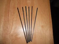 6 Dozen Ultra Reverse Tooth Flying Dutchman Scroll Saw Blades 1,3,5,7,9 Pinless