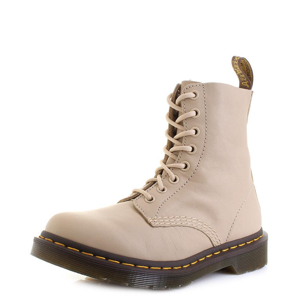 Damens Dr Martens Pascal Nude Virginia  Leder Size DM Ankle Stiefel UK Size Leder cac224