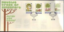 SINGAPORE FIRST DAY COVER 1976 WAYSIDE TREES - PLANTS