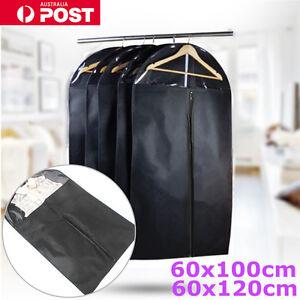 Garment Dustproof Cover Storage Bags Clothes Suit Coat Dress Jacket Protector AU