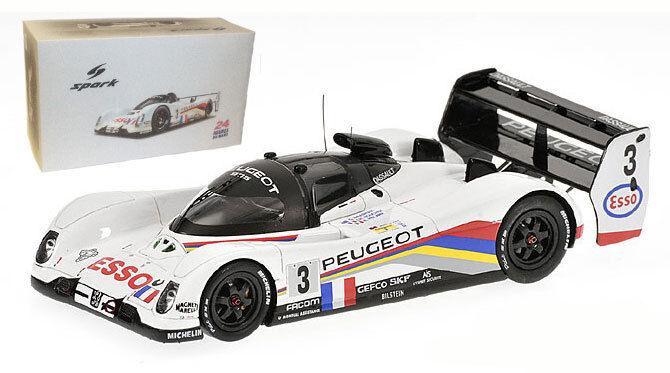 Spark 18LM93 Peugeot 905 Le Mans Winner 1993 - 1 18 Scale