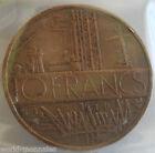 10 francs mathieu 1976 tranche B : TTB : pièce de monnaie française