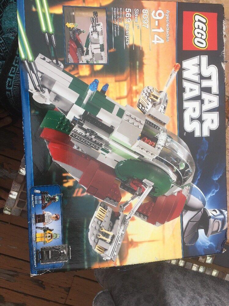 Lego estrella guerras 8097 Boba Fett  Ship  protezione post-vendita