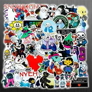 50Pcs Anime Hazbin Hotel Cartoon Stickers for Laptop Helmet Luggage Skateboard