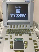 Sonosite Titan Portable Ultrasound Including 1 Transducer Mobile Docking Cart