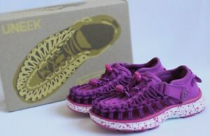 KEEN-UNEEK-O2-Sandals-Toddler-Size-8-Purple-Wine-Verry-Berry-Shoes-Summer-Girl