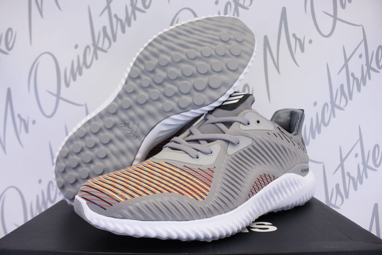 ADIDAS ALPHABOUNCE HPC SZ 12 CORE MULTI SOLID GREY UTILITY CORE 12 BLACK BB9049 55162a
