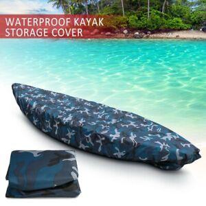Professional Kayak Canoe Boat Waterproof UV Resistant Dust Storage Cover F2P6