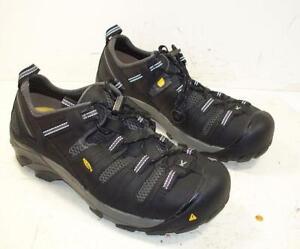 e6b39e7d95e5b2 La foto se está cargando 788TT-Mens-Keen-Footwear-Black-Atlanta-Cool-Steel-