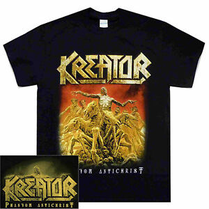 Kreator-Phantom-Antichrist-Shirt-M-L-XL-Thrash-Metal-Official-Band-T-Shirt-New