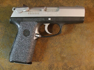 Details about Black Rubber Grip Enhancements for the Ruger P95 and Ruger  P95DC 9mm Handguns