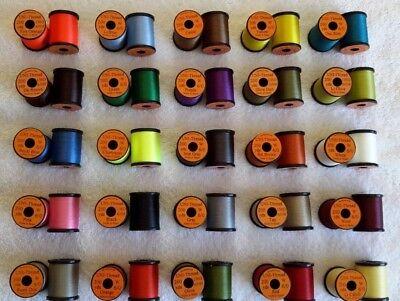 "/""Uni-Thread Combo/"" Thread. Yarn Fly Tying 6//0...200 yd Spool. Floss Tinsel"