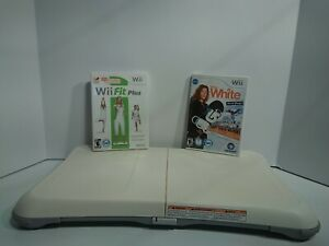 Lot-of-3-Nintendo-Wii-Fit-Balance-Board-plus-Shaun-White-World-Stage